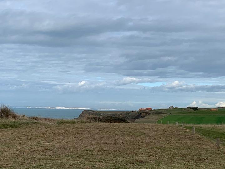 les falaises anglaises, côte d'Opale